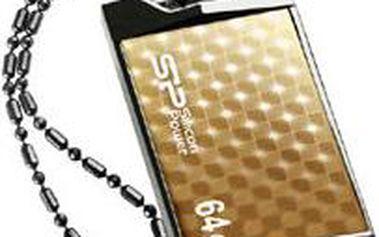 Silicon Power Touch 851 64GB, zlatá - SP064GBUF2851V1G