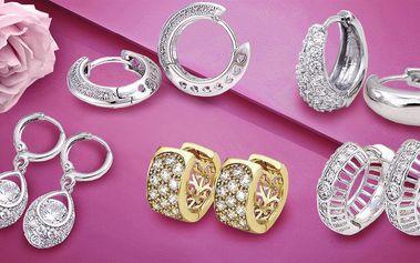 Nádherné šperky se třpytivými zirkony
