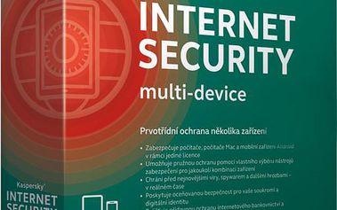 Kaspersky Internet Security 2015/2016 CZ, 5 zařízení, 1 rok, nová licence, box - KL1941OBEFS-5MCZ