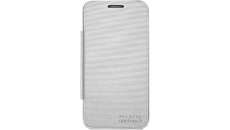 Alcatel flipové pouzdro pro POP D5, bílá - G5038-2DALFCG