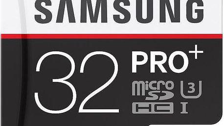 Samsung Micro SDHC PRO+ 32GB Class 10 UHS-I - MB-MD32DA/EU