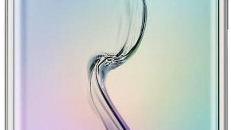 Samsung EF-QG925B pouzdro pro Galaxy S6 Edge (G925), stříbrná - EF-QG925BSEGWW