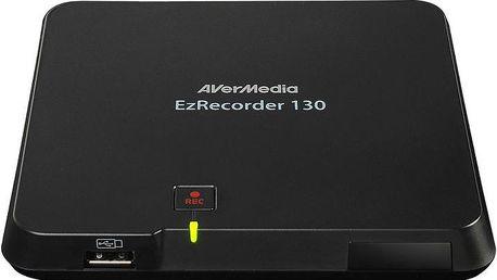 AVerMedia EZRecorder 130 Capture Box, nahrávací/střihová karta - 61ER1300A0AC