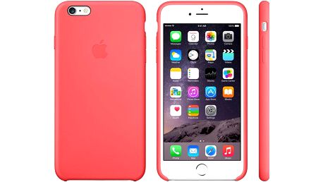Apple Silicone Case pro iPhone 6 Plus, růžová - MGXW2ZM/A