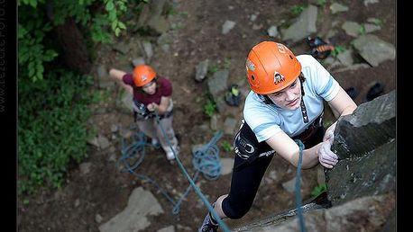 Dvoudenní kurz horolezectví - Vysočina 16.-17.4.2016