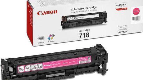 Canon CRG-718, purpurový - 2660B002
