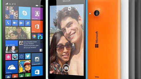 Microsoft Lumia 535, černá - A00022654
