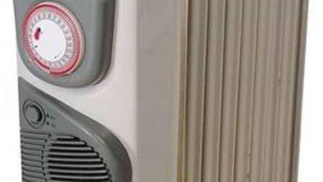 Olejový radiátor Ardes 474T krémový