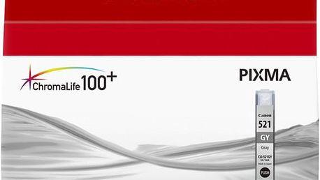 Canon CLI-521 GY, šedá - 2937B001