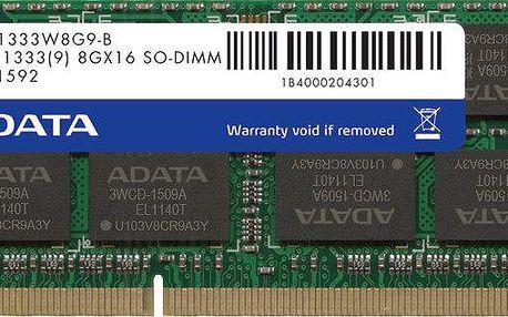 ADATA Premier Series 16GB (2x8GB) DDR3 1333 SODIMM CL 9 - AD3S1333W8G9-2