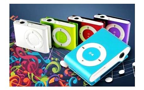 Vychutnávejte oblíbenou muziku na každém kroku s mp3 přehrávačem, vybírat můžete ze čtyř barev.