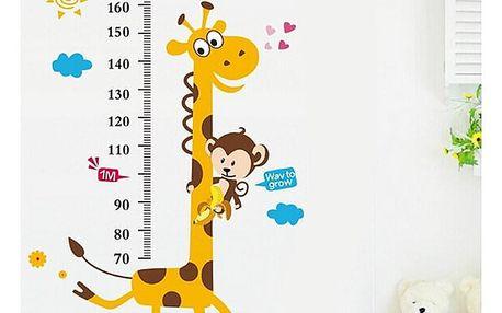 žirafa dětský metr 50 x 70 cm