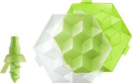 Silikonová forma na led a sprej na citrusy