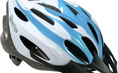 Cyklo přilba WESTIGE Anemone L - modro-bílá