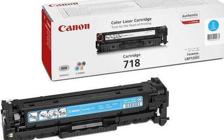 Canon CRG-718C, azurový