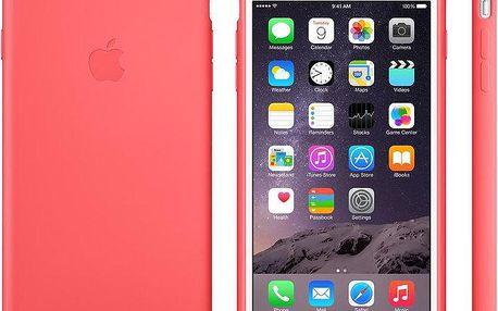 Apple Silicone Case pro iPhone 6 Plus, růžová - MGXW2ZM/A
