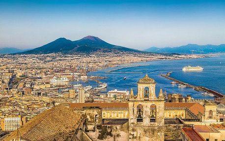 5denní poznávací zájezd do Itálie s koupáním na ostrově Capri pro 1 osobu