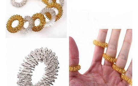 Akupresurní prsteny - 5 kusů