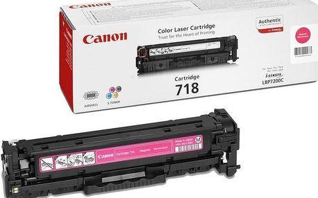 Canon CRG-718M, purpurový
