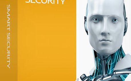 ESET Smart Security 8 - 1 PC/1 rok - krabicová verze + zdarma 32 GB flash disk