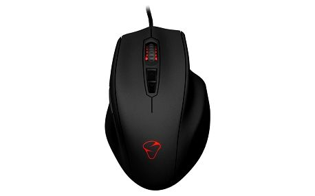 MIONIX herní myš NAOS 3200/ drátová/ LED senzor/ 3200 dpi/ USB/ 7 tlačítek