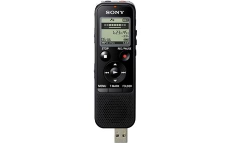 SONY ICD-PX440, 4GB, černá - ICDPX440.CE7 + SONY Alkalické baterie AAA, 4ks v ceně 49 Kč
