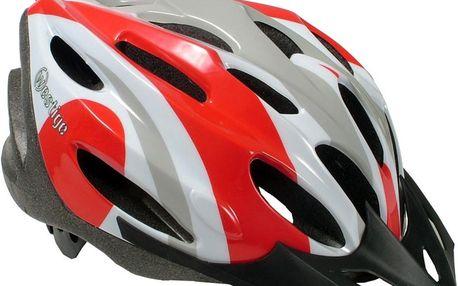 Cyklo přilba WESTIGE Anemone L - červeno-bílá