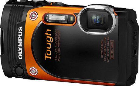 Olympus TG-860, oranžová - V104170OE000