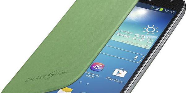 Samsung flipové pouzdro EF-FI919BG pro Galaxy S4 mini, zelená - EF-FI919BGEGWW