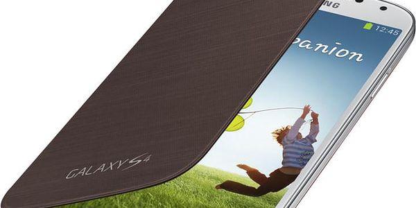 Samsung flipové pouzdro EF-FI950BA pro Galaxy S 4 (i9505), hnědá - EF-FI950BAEGWW