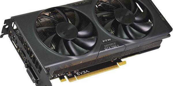 EVGA GeForce GTX 750 Ti FTW w/ ACX Cooling 2GB GDDR5 - 02G-P4-3757-KR