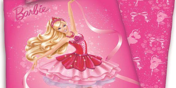Herding Dětské bavlněné povlečení Barbie, 140 x 200 cm, 70 x 90 cm