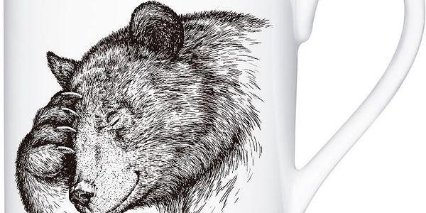 Porcelánový hrnek Bear, 300 ml