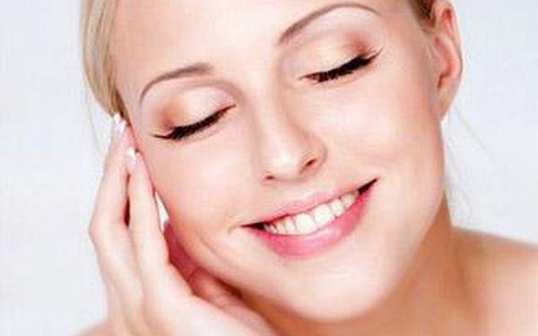 Kompletní kosmetické ošetření pleti včetně ultrazvukového čištění a masáží s aplikací hydro séra.