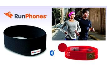 AcousticSheep RunPhones® Wireless Black L RB2BL