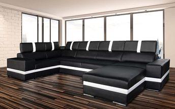 Designová a praktická sedačka z eko-kůže