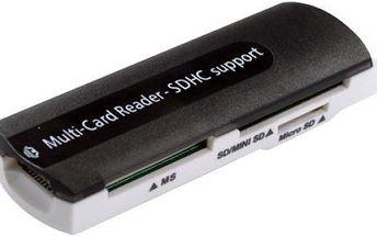 Univerzální čtečka paměťových karet do USB - dodání do 2 dnů