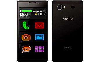 Aligator S4515 Senior šedý Dual SIM