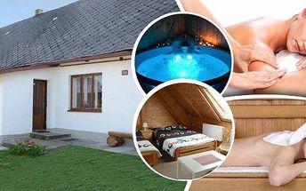 Relaxační pobyt v apartmánech pro 2 osoby na 3, 7 nebo 8 dní v srdci Českomoravské vrchoviny s polopenzí a masáží. Užijte si privátní vířivku, finskou nebo infra saunu a objevujte krásu přírody na rozhraní CHKO Žďárské vrchy a Železných hor!