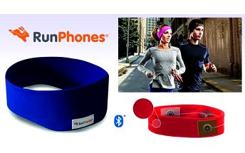 AcousticSheep RunPhones® Wireless Blue S RB2US