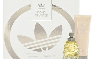 Adidas Born Original For Him dárková kazeta pro muže toaletní voda 30 ml + sprchový gel 75 ml