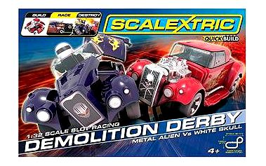 SCALEXTRIC Quick Build - Demolition Derby