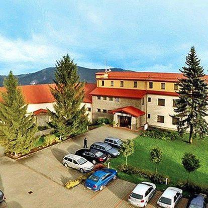 3 dny v Bílých Karpatech: polopenze a wellness