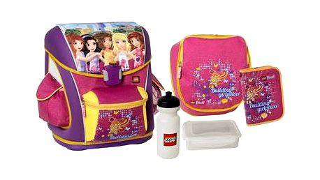 Ultimate Školní aktovka 5-dílný set, LEGO FRIENDS ALL GIRLS