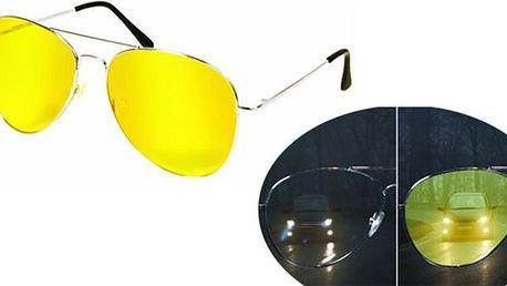 Speciální brýle pro řízení ve tmě a šeru