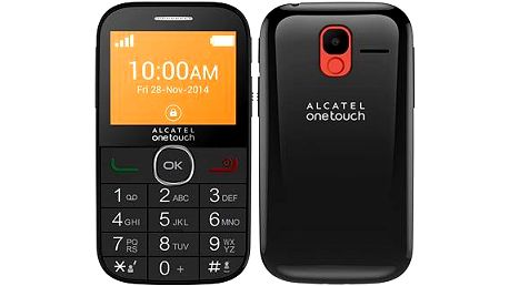 ALCATEL ONETOUCH 2004C Black