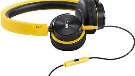 AKG Y 40 žlutá