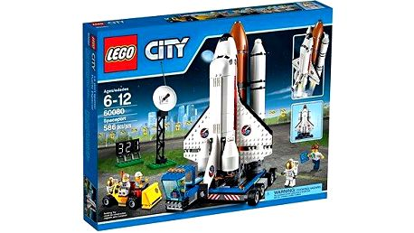 LEGO City Space port 60080 Kosmodrom