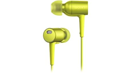 Sony Hi-Res MDR-EX750 žlutá