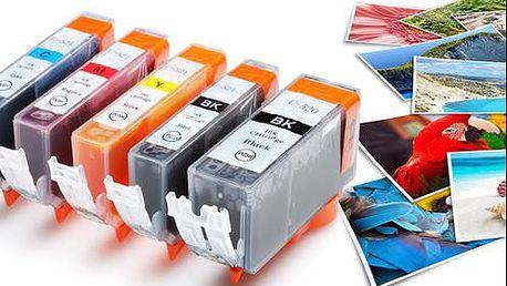 Kompatibilní náplně pro tiskárny Canon, doručení zdarma